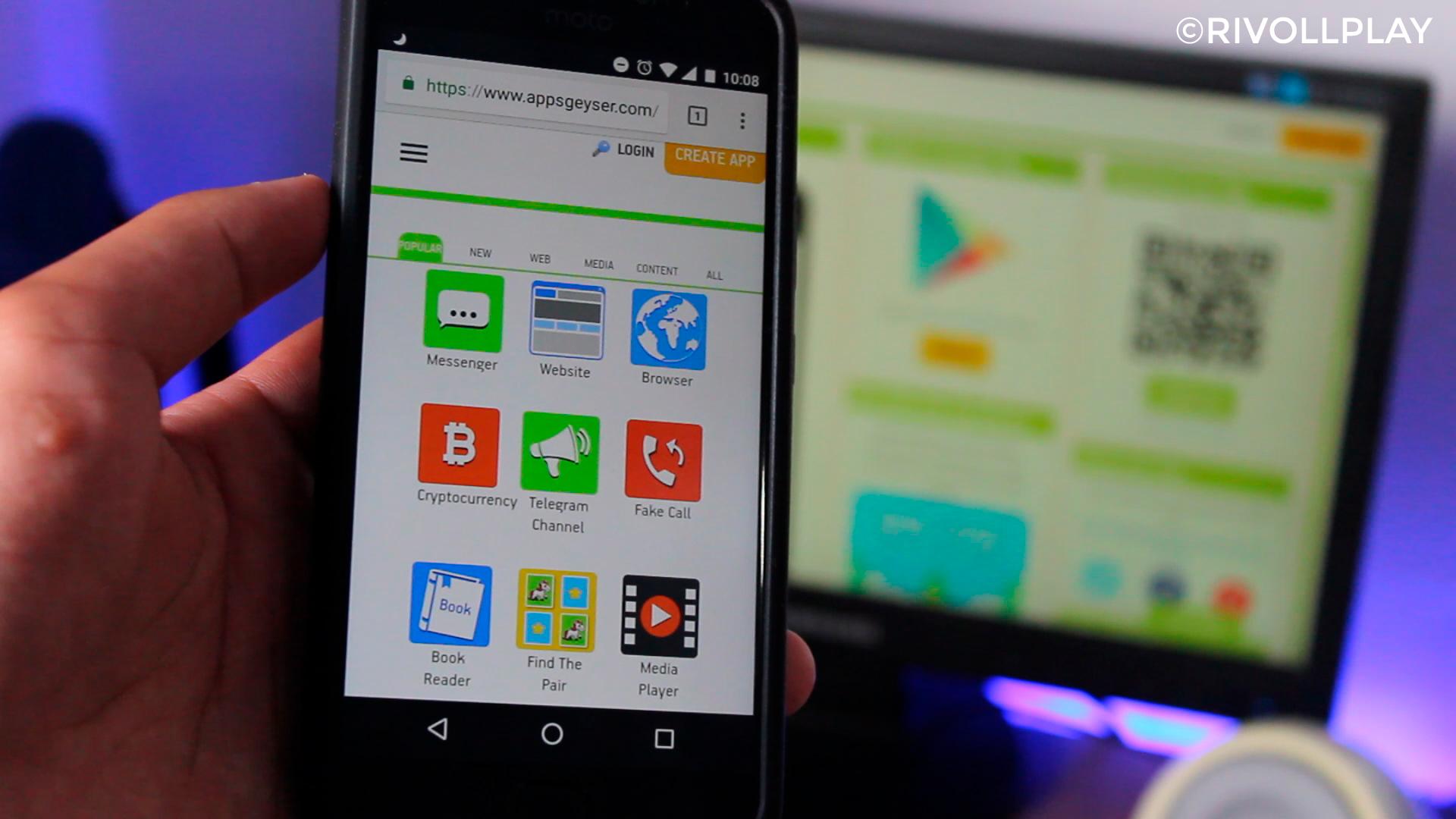 como-criar-aplicativos,rivollplay