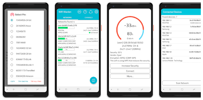 WiFi Warden (Conexão WPS) - Descobrir Senhas Wi-Fi | RivollPlay