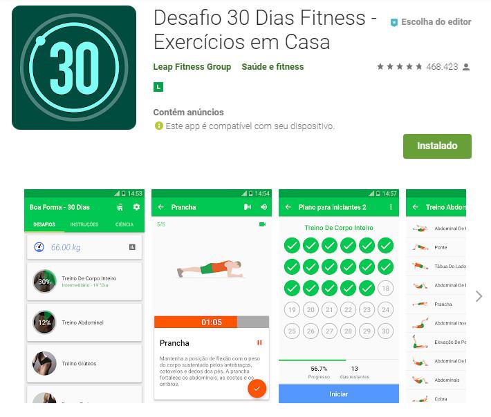 Desafio 30 Dias Fitness