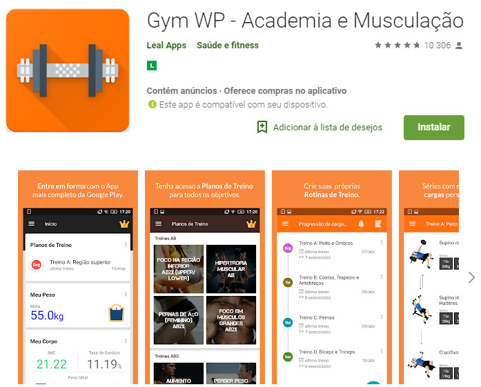Gym WP - Academia e Musculação