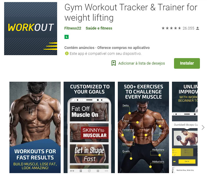 Gym Workout Tracker