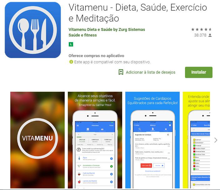 Vitamenu Dieta e Nutrição