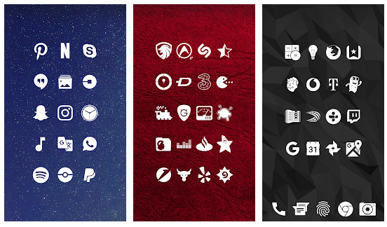 Whicons - White Icon Pack | RivollPlay