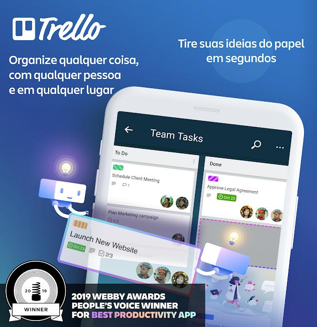 melhores aplicativos de 2019 para gerenciamento de tarefas