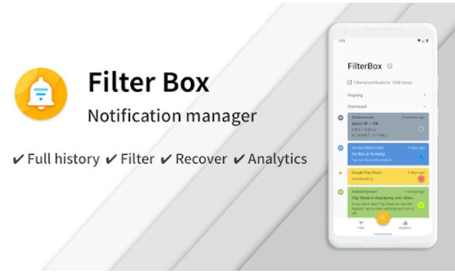 FilterBox - Pro Notification Manager