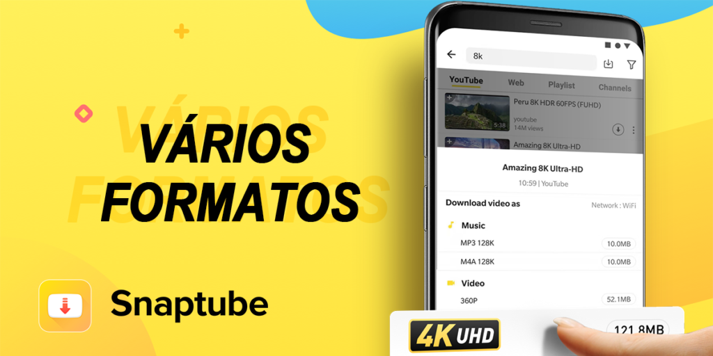 SnapTube - Baixar Musicas e Videos