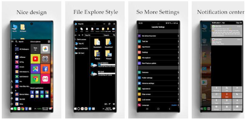 Computer Launcher - Melhores Aplicativos Android