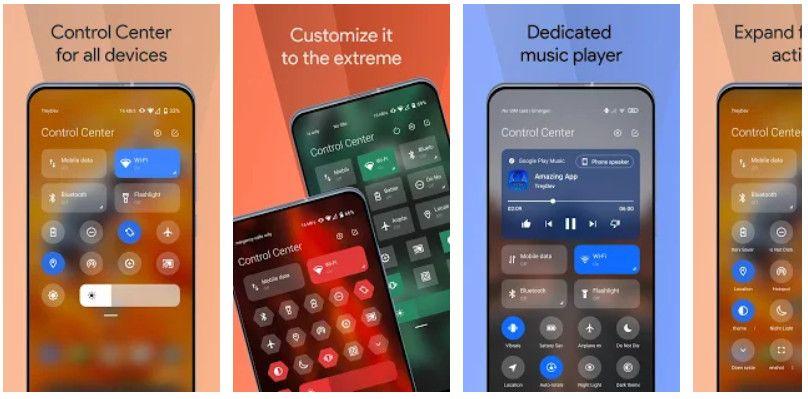 Mi Control Center - Melhores Aplicativos Android