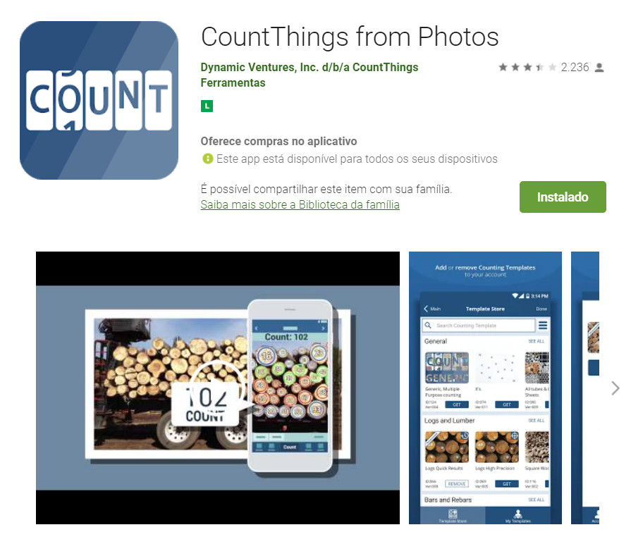 CountThings from Photos